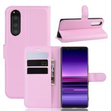 Luurinetti Flip Wallet Sony Xperia 5 pink