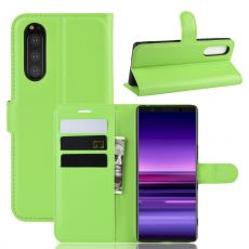 Luurinetti Flip Wallet Sony Xperia 5 green