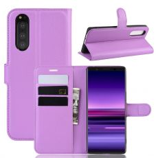 Luurinetti Flip Wallet Sony Xperia 5 purple