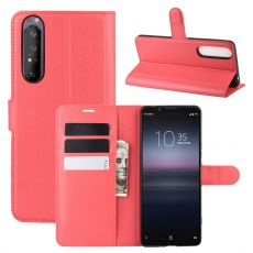 LN Flip Wallet Sony Xperia 1 II red