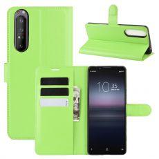 LN Flip Wallet Sony Xperia 1 II green