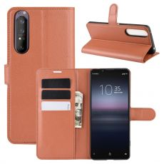 LN Flip Wallet Sony Xperia 1 II brown