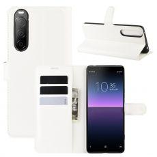 LN Flip Wallet Xperia 10 II white