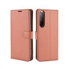 LN Flip Wallet Xperia 10 II brown