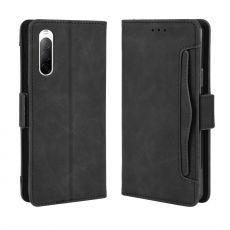 LN 5card Flip Wallet Xperia 10 II Black