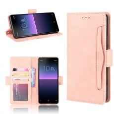 LN 5card Flip Wallet Xperia 10 II Pink