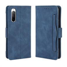 LN 5card Flip Wallet Xperia 10 II Blue