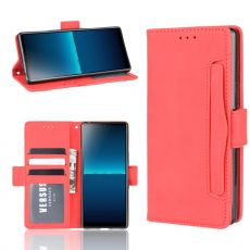 LN 5card Flip Wallet Sony Xperia L4 Red
