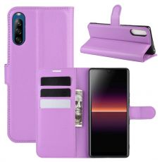 LN Flip Wallet Sony Xperia L4 Purple