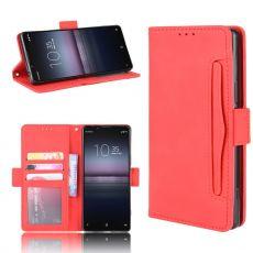 LN 5card Flip Wallet Sony Xperia 5 II red