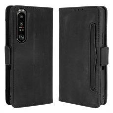 LN 5card Flip Wallet Xperia 1 III black