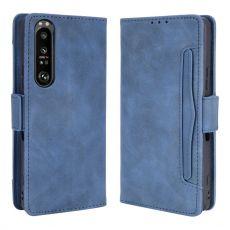 LN 5card Flip Wallet Xperia 1 III blue