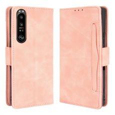 LN 5card Flip Wallet Xperia 1 III pink