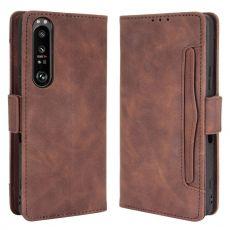 LN 5card Flip Wallet Xperia 1 III brown