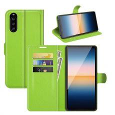 LN Flip Wallet Xperia 10 III green