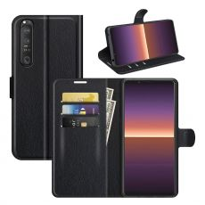 LN Flip Wallet Xperia 1 III black