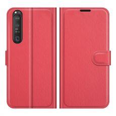 LN Flip Wallet Xperia 1 III red