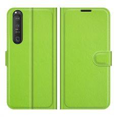 LN Flip Wallet Xperia 1 III green