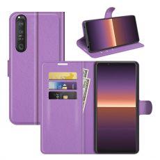 LN Flip Wallet Xperia 1 III purple