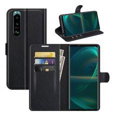 LN Flip Wallet Sony Xperia 5 III black