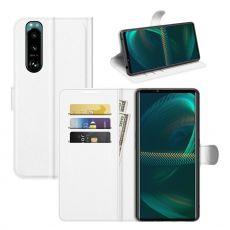 LN Flip Wallet Sony Xperia 5 III white