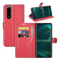LN Flip Wallet Sony Xperia 5 III red