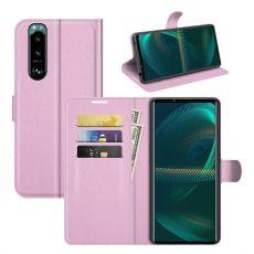 LN Flip Wallet Sony Xperia 5 III pink