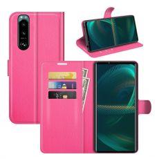 LN Flip Wallet Sony Xperia 5 III rose