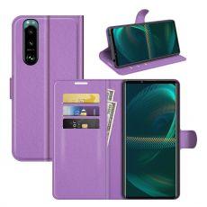 LN Flip Wallet Sony Xperia 5 III purple