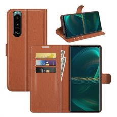 LN Flip Wallet Sony Xperia 5 III brown