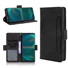 LN 5card Flip Wallet Sony Xperia 5 III black