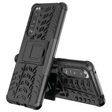 LN suojakuori tuella Sony Xperia 5 III black