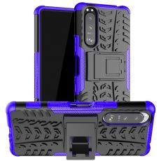 LN suojakuori tuella Sony Xperia 5 III purple