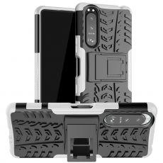 LN suojakuori tuella Sony Xperia 5 III white