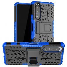 LN suojakuori tuella Sony Xperia 5 III blue
