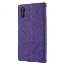 Goospery Xperia XZ/XZs suojakotelo purple/black