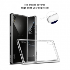 IMAK Sony Xperia XA1 Ultra läpinäkyva TPU-suoja