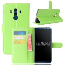 Luurinetti Flip Wallet Huawei Mate 10 Pro green