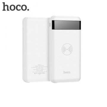 Hoco QI-latausalusta+10 000 mAh varavirtalähde