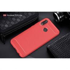 Luurinetti TPU-suoja Huawei P20 Lite red