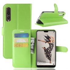 Luurinetti Flip Wallet Huawei P20 Pro green