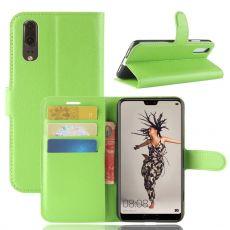 Luurinetti Flip Wallet Huawei P20 green