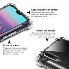 Imak läpinäkyvä Pro TPU-suoja Huawei P20