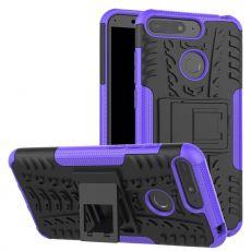 Luurinetti suoja tuella Y6 2018/Honor 7A purple