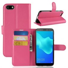 LN Flip Wallet Y5 2018/Honor 7S rose