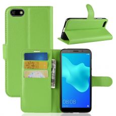 Luurinetti Flip Wallet Y5 2018/Honor 7S green