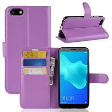 LN Flip Wallet Y5 2018/Honor 7S purple
