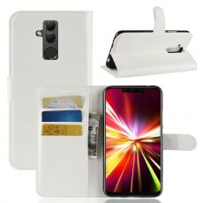 Luurinetti Flip Wallet Mate 20 Lite white