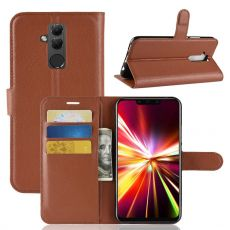 Luurinetti Flip Wallet Mate 20 Lite brown
