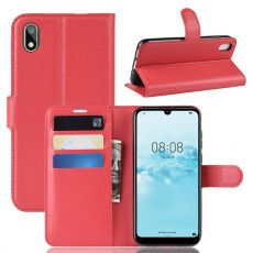 LN Flip Wallet Y5 2019/Honor 8S Red